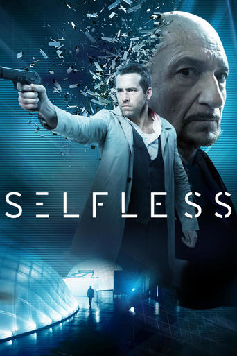 "Poster for the movie ""Self/less"""