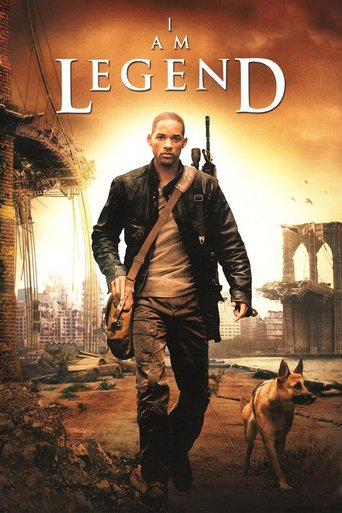 "Poster for the movie ""I Am Legend"""