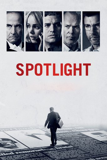 "Poster for the movie ""Spotlight"""