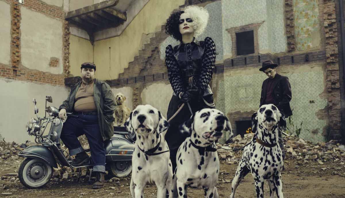 Cruella de Vil: Emma Stone stars in new images as the villain of the film