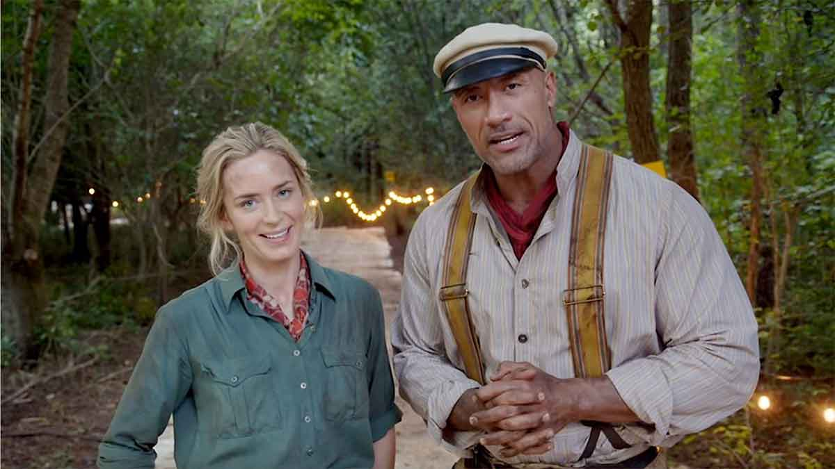 Spectacular Jungle Cruise trailer with Emily Blunt and Dwayne Johnson