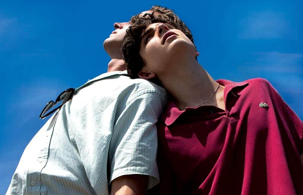 Retro-criticism of Call me by your name: love in Italy