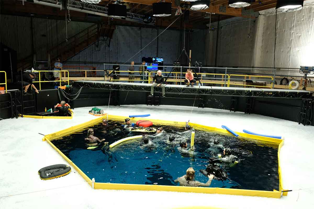 Avatar 2 shows the water technology used by James Cameron
