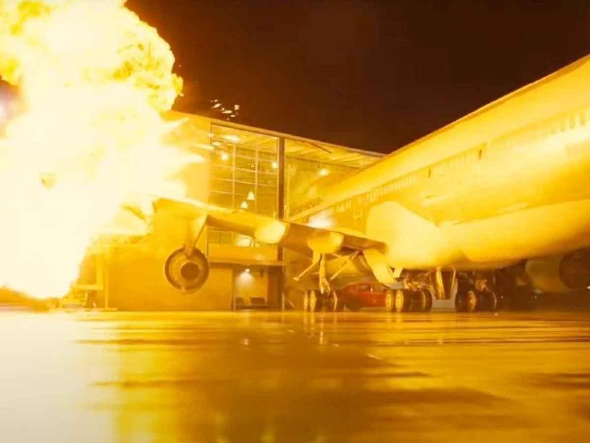 Motivo por el que estrellan un avión real en Tenet en vez de usar CGI