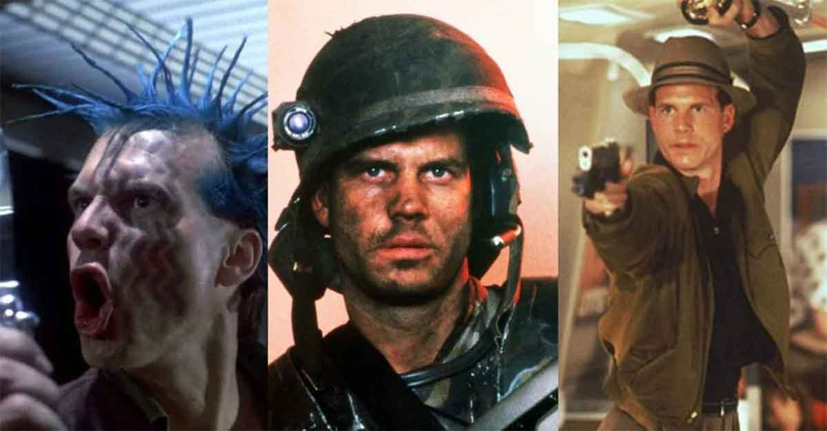 The only actor who has died at the hands of Predator, Terminator and Alien