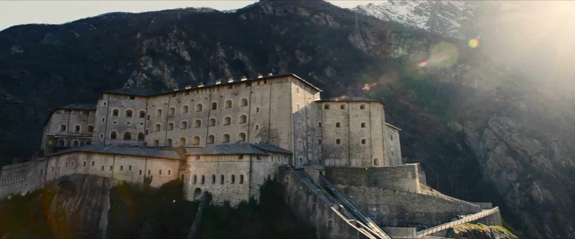 The Sokovia Castle of the Marvel Cinematic Universe is Fort Bard