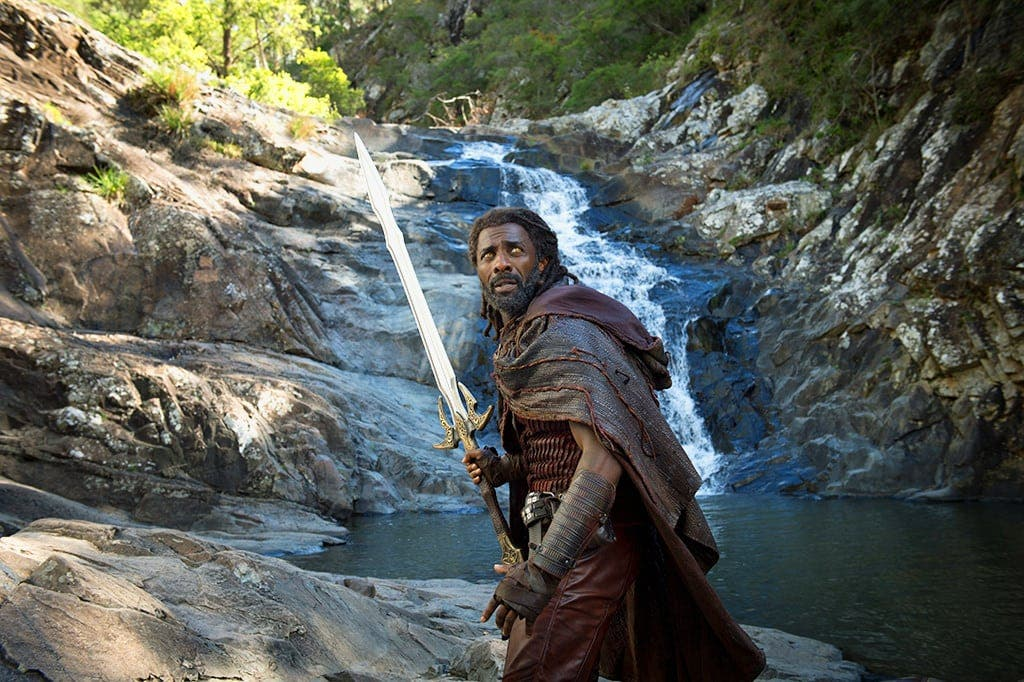 Heimdall at Cedar Creek Falls Thor Ragnarok from the Marvel Cinematic Universe