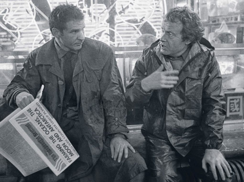 Behind the scenes Blade Runner