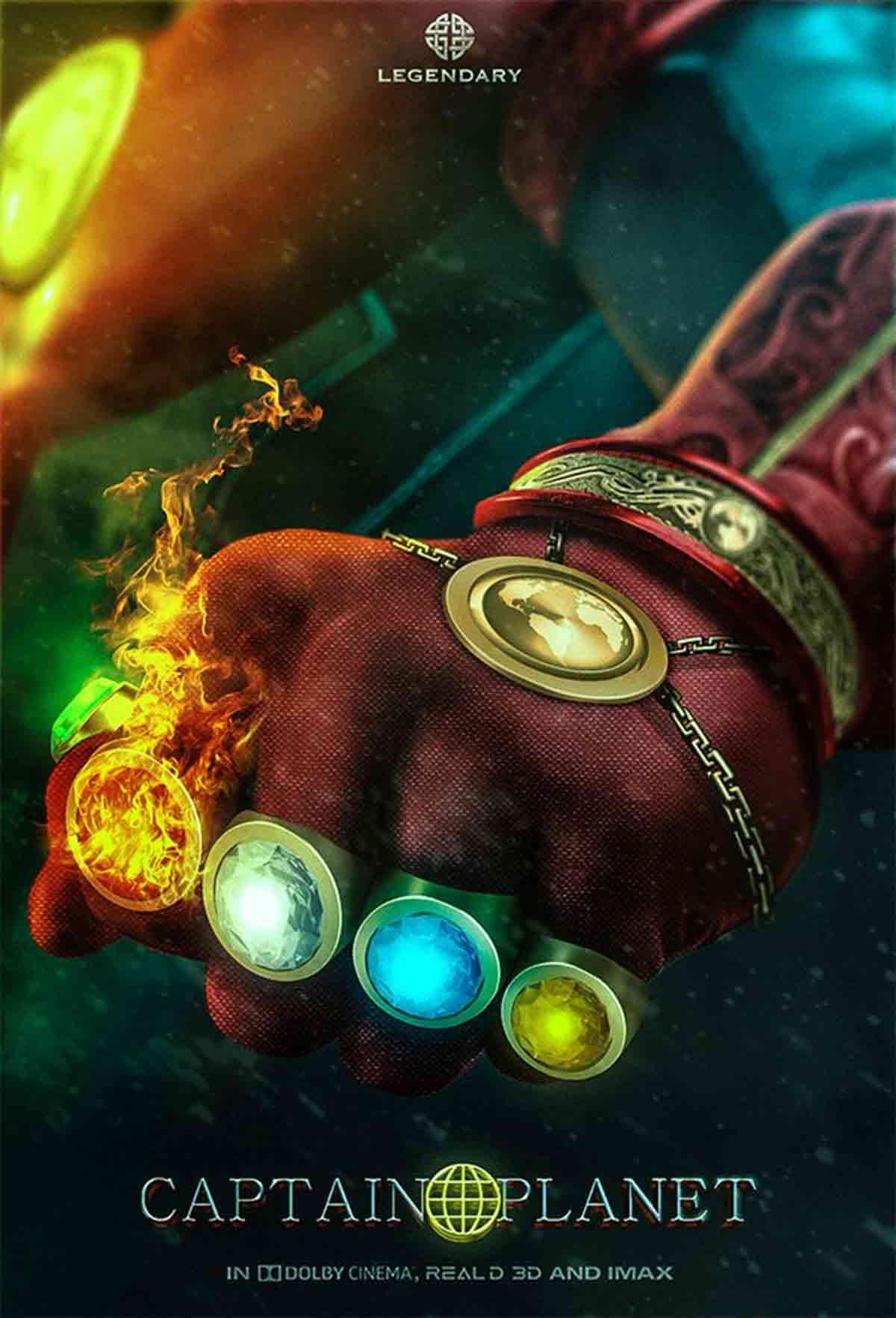 Captain Planet gets a