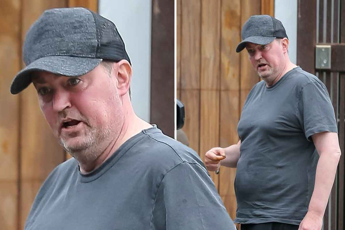 Matthew Perry (Friends) fans are very concerned about his fitness