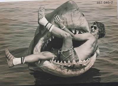 Steven Spielberg and his beloved creation