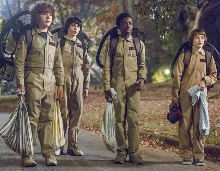 Stranger Things 2 - Ghostbusters