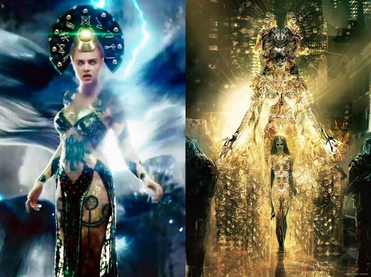 That's how spectacular Enchantress was going to be in Suicide Squad (2016)