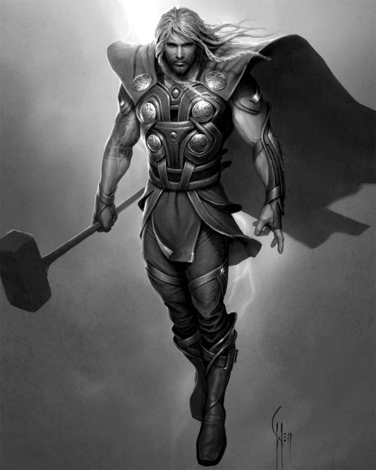 Thor's first design revealed for Marvel movies