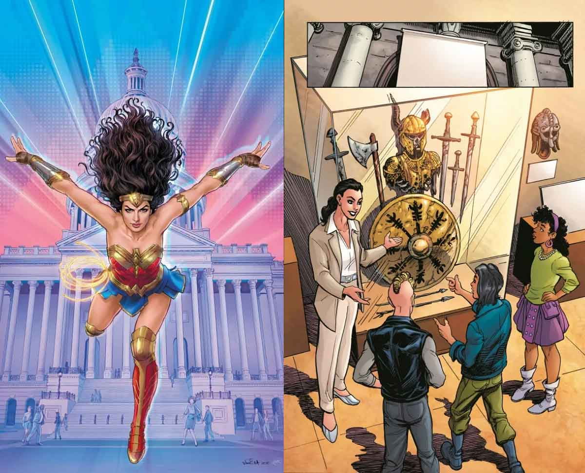 Wonder Woman 1984 will have a prequel comic