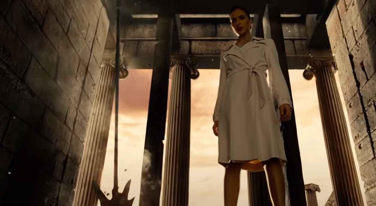 Wonder Woman returns to Themiscira