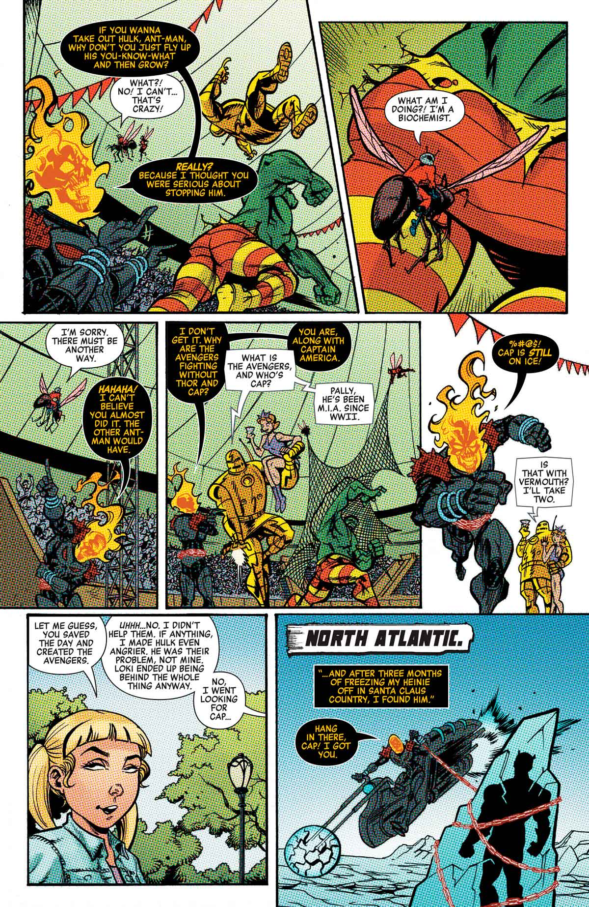 Cosmic Ghost Rider Destroys The Marvel history n 5