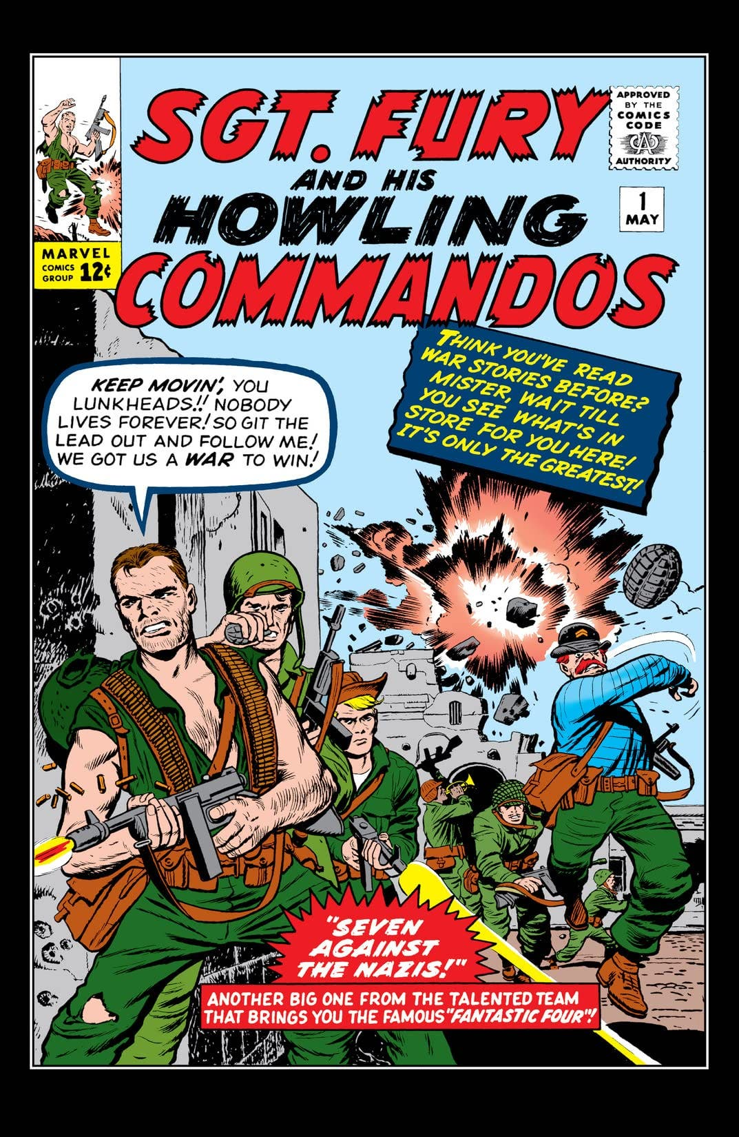 Fury and his Howling Commandos