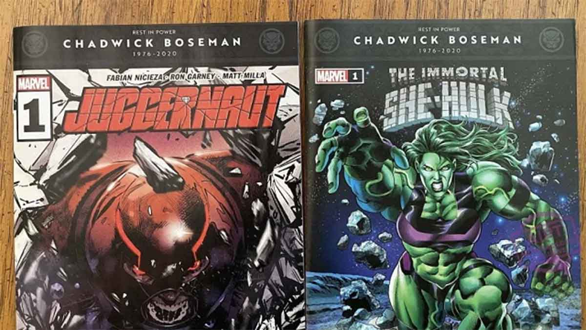 Chadwick Boseman to be honored on Marvel comic book covers