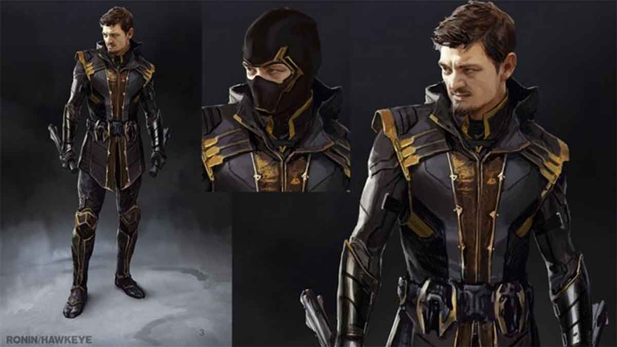 Ronin alternate designs revealed for Avengers: Endgame