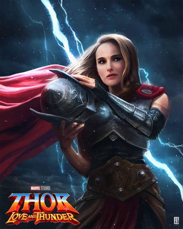 Spectacular Fan Art of Natalie Portman as Marvel's new Thor