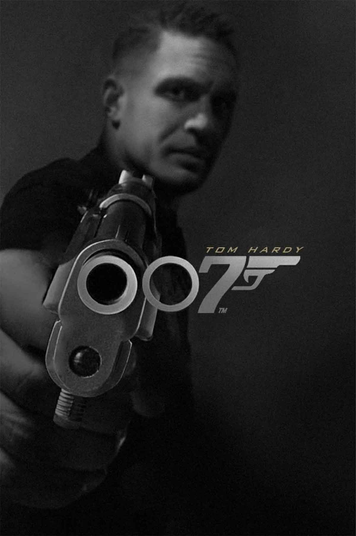 Spectacular Fan Art of Tom Hardy as the new James Bond