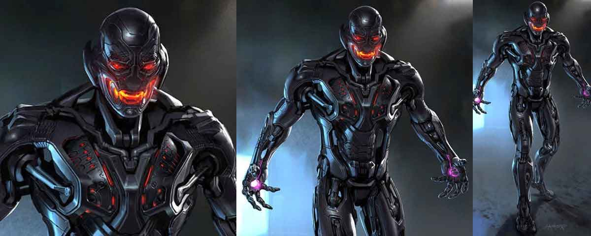The Ultron design that Joss Whedon wanted and that Marvel rejected