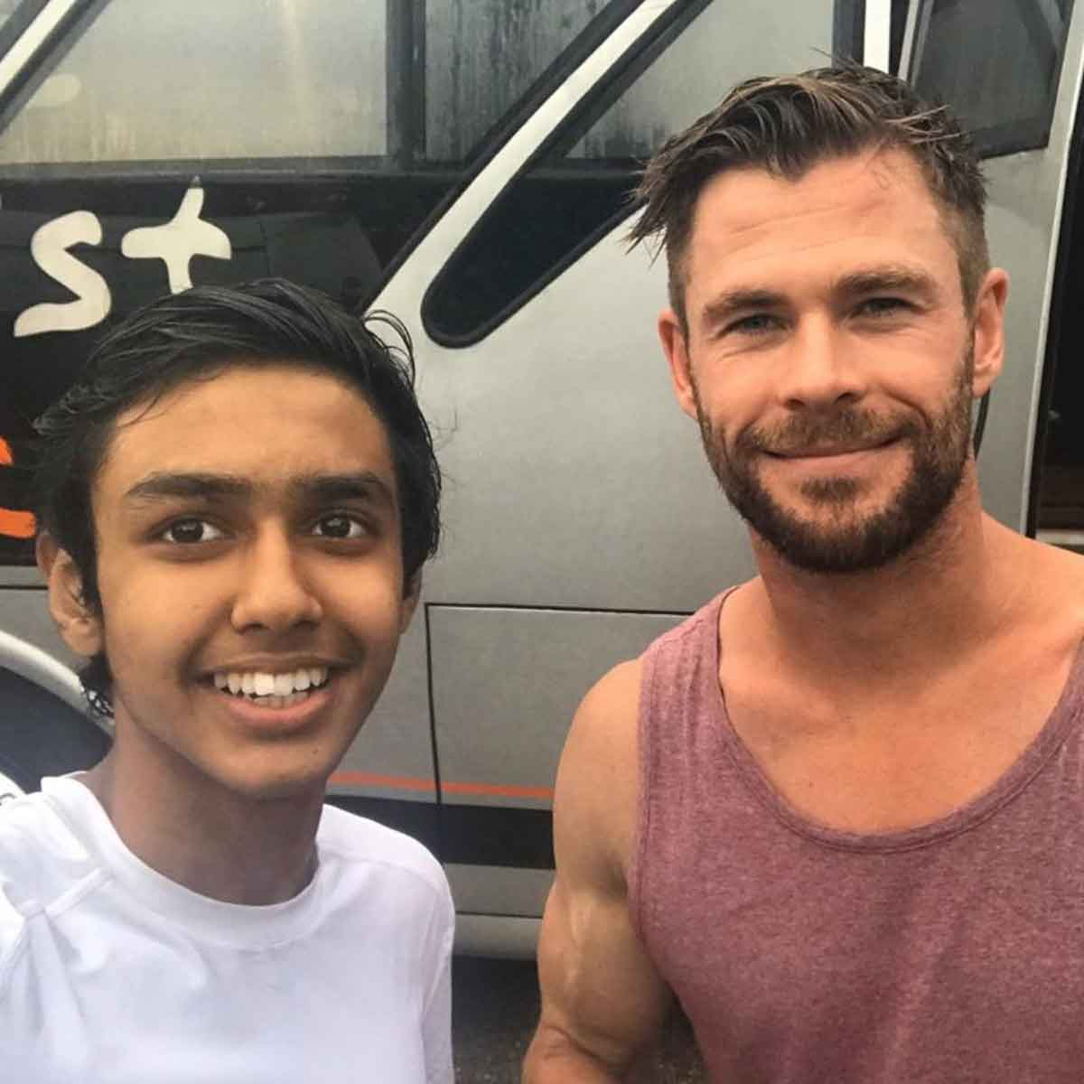 This is how Chris Hemsworth changed the life of a young actor