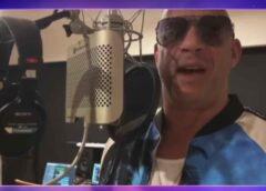 Vin Diesel se estrena como cantante