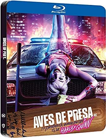 Blue Ray from Birds of Prey (and the Fantabulous Emancipation of Harley Quinn