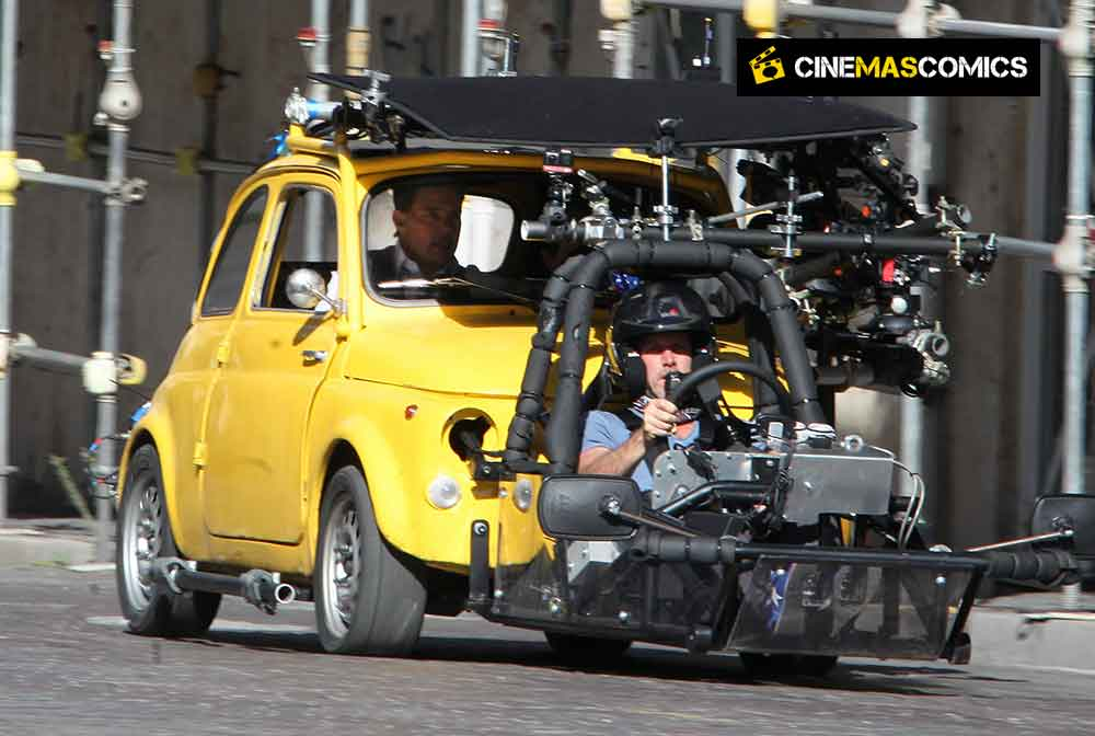 Filming Mission Impossible 7