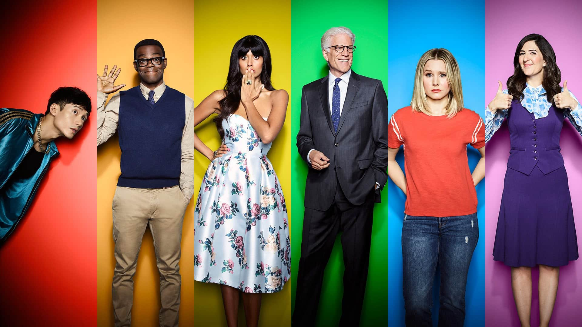 the good place from Netflix