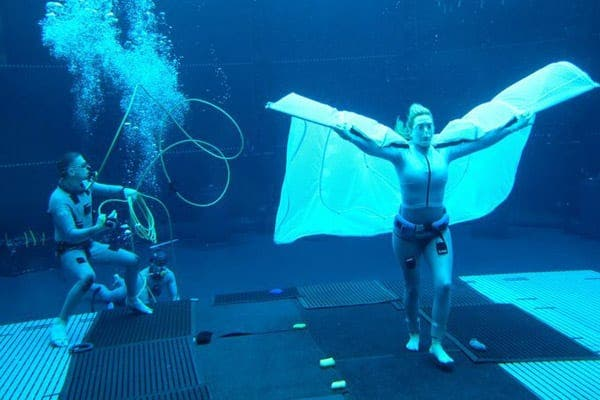 Avatar 2: New images of Kate Winslet filming underwater