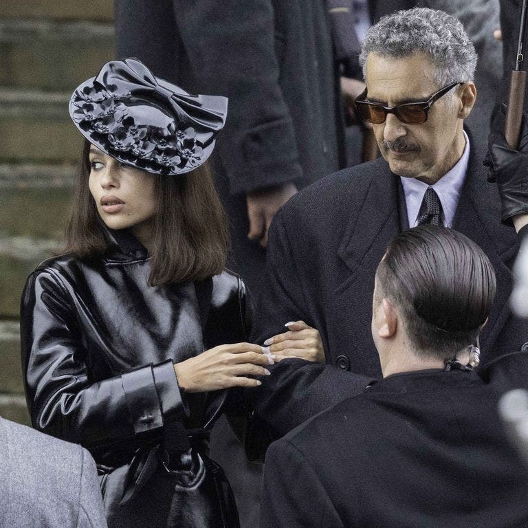 The Batman Zoë Kravitz and John Turturro
