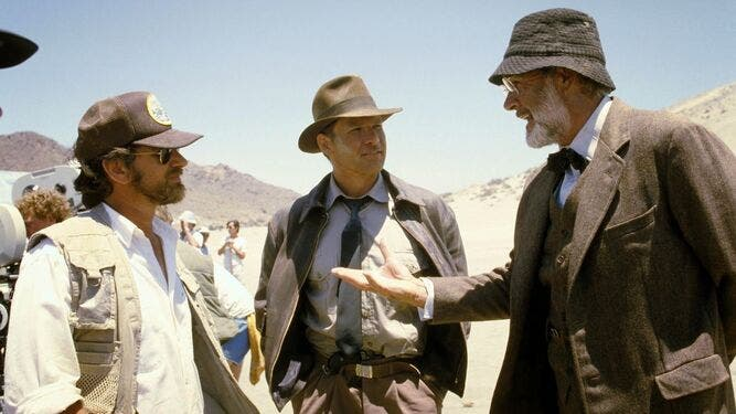 Sean Connery Indiana Jones