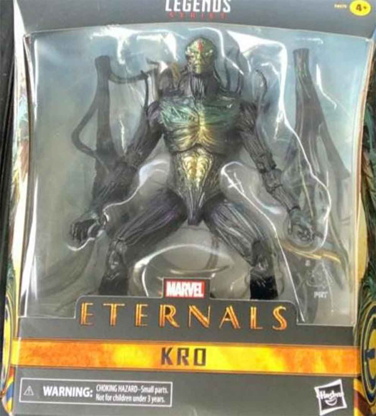 They filter the great villain of the film of The Eternals of Marvel
